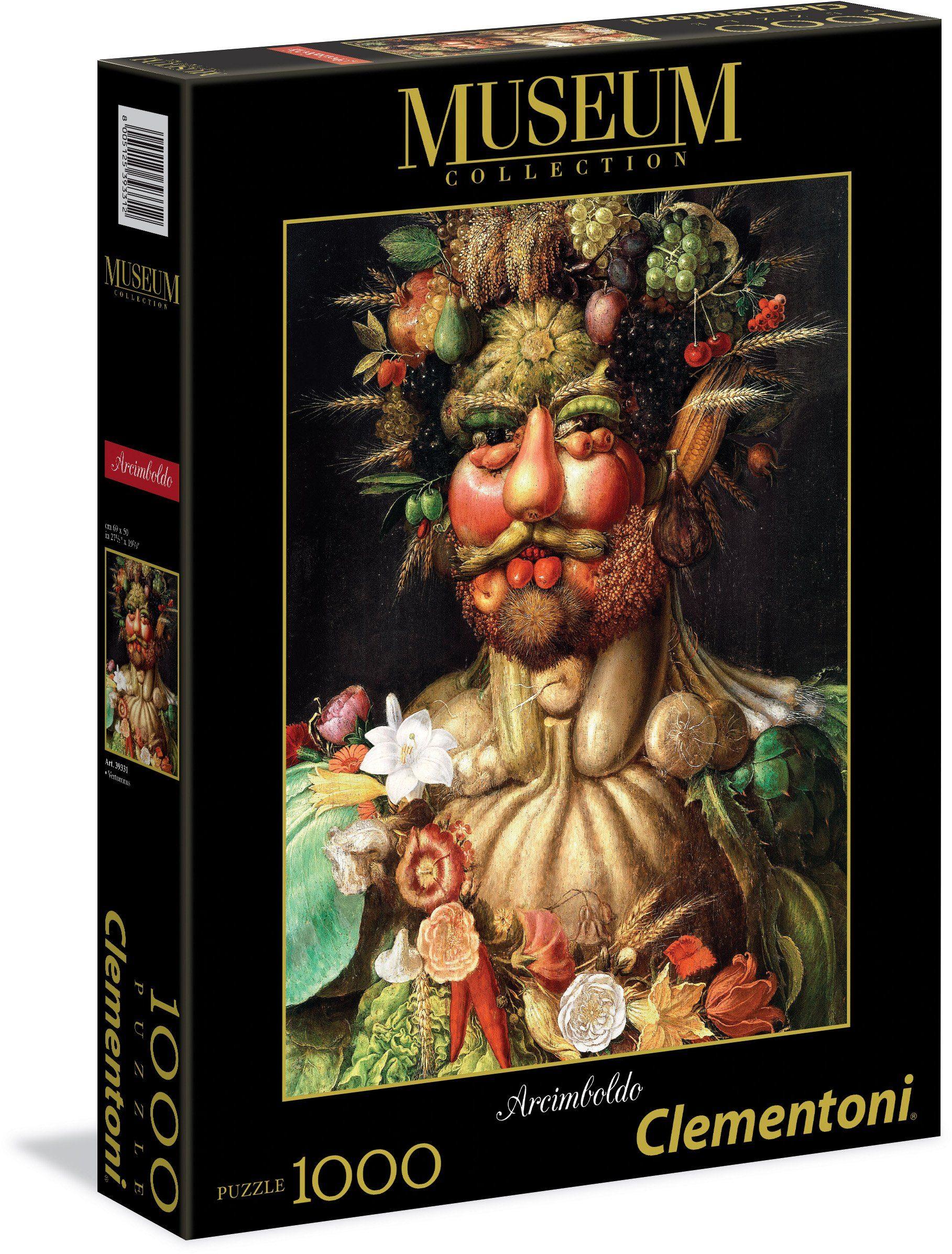 Clementoni Puzzle, 1000 Teile, »Arcimboldo Vertumnus«