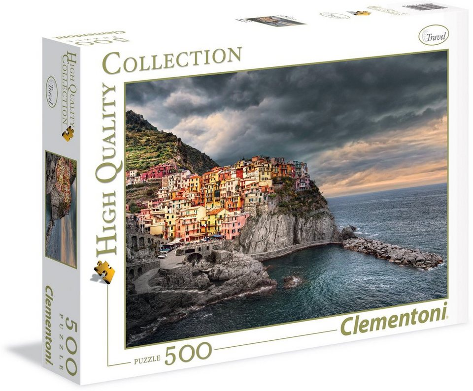 Clementoni Puzzle, 500 Teile, »Manarola«