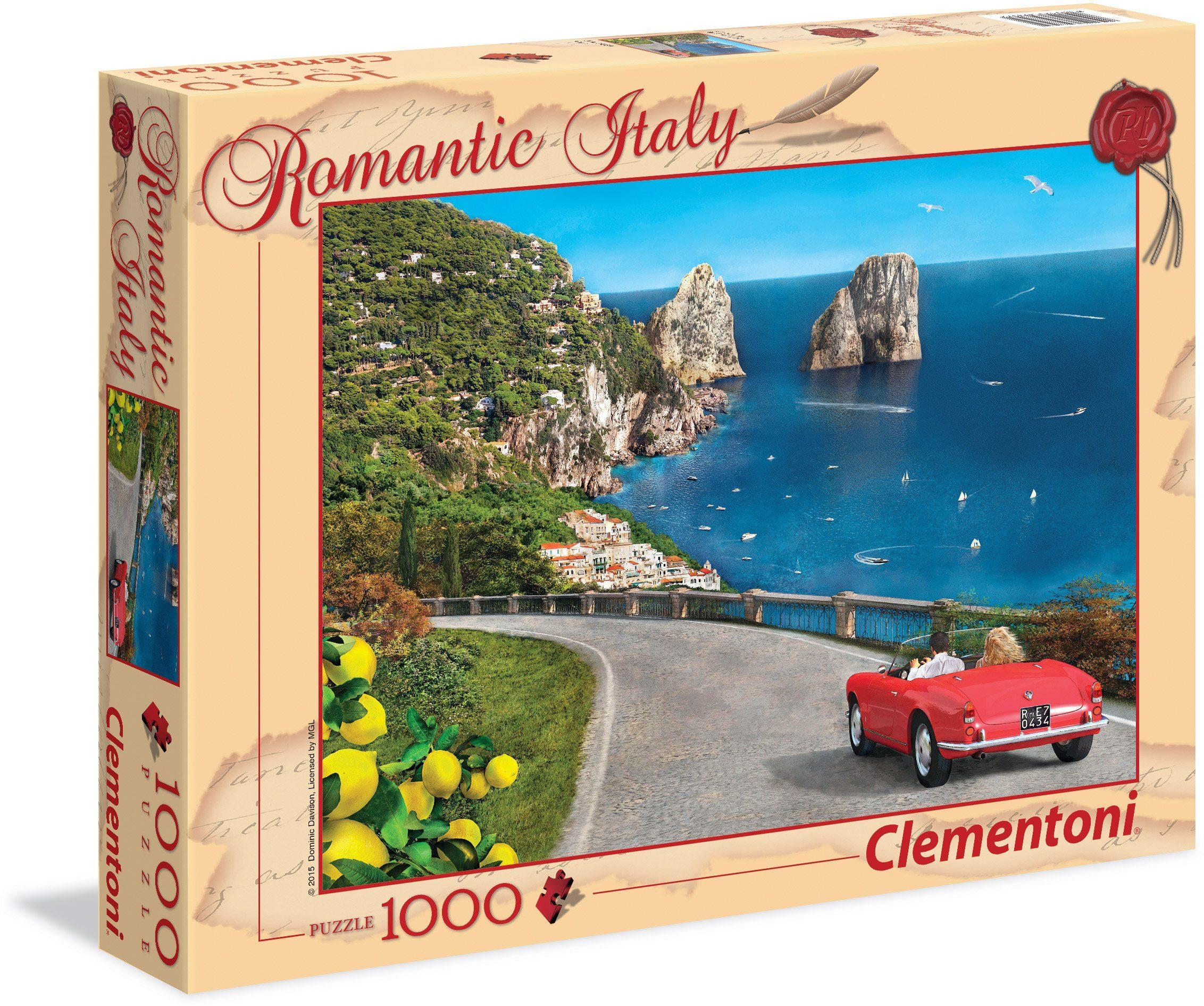 Clementoni Puzzle, 1000 Teile, »Capri«