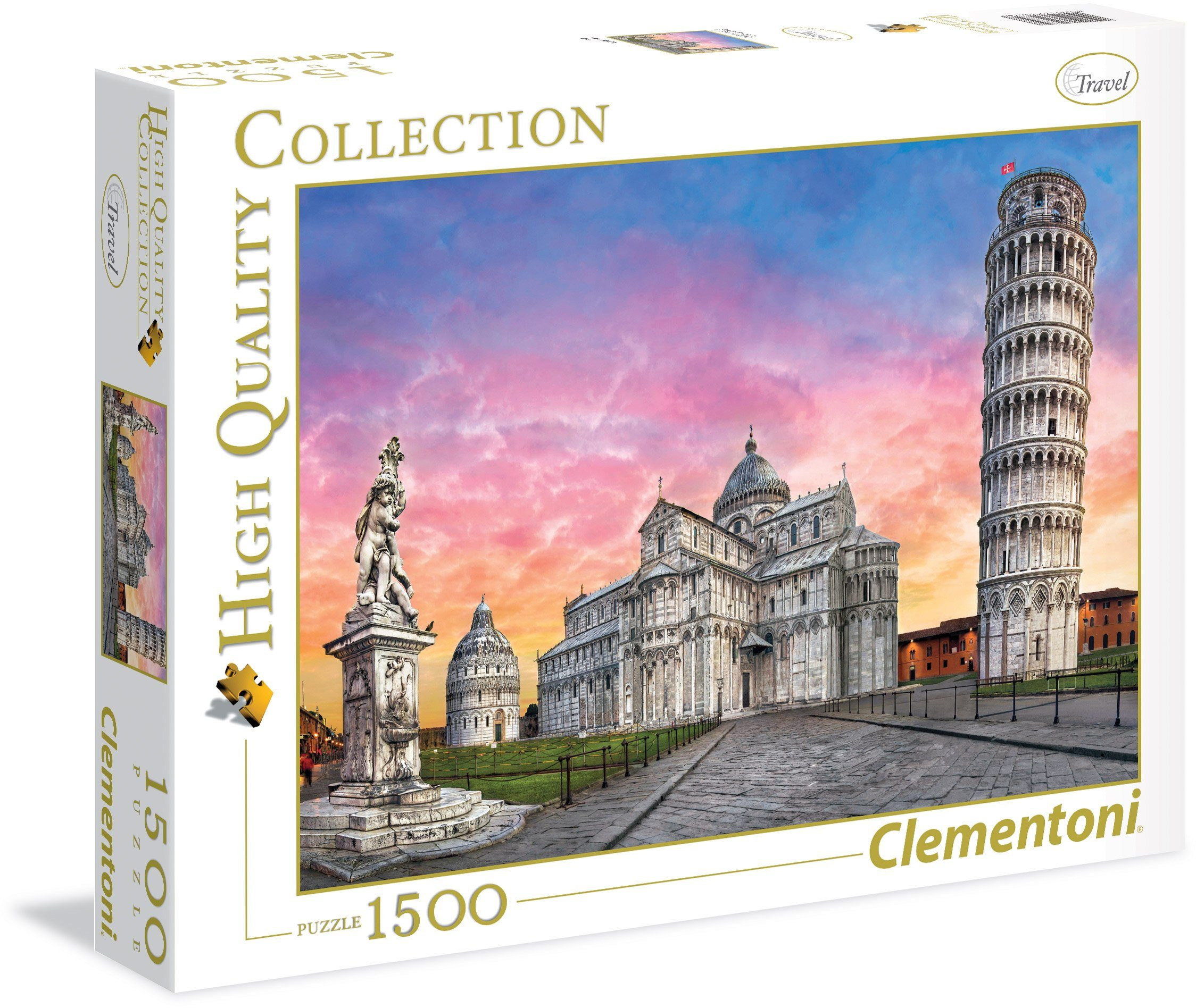 Clementoni Puzzle, 1500 Teile, »Pisa«