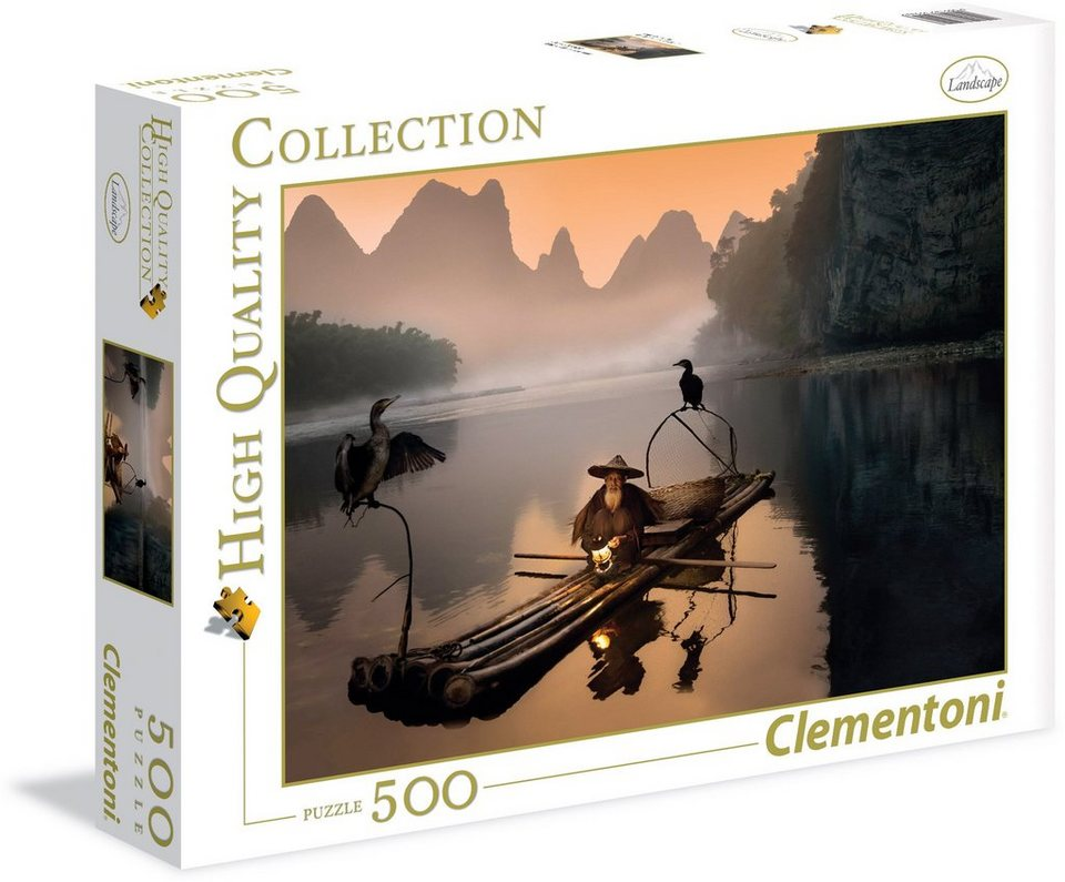Clementoni Puzzle, 500 Teile, »Der alte Fischer«
