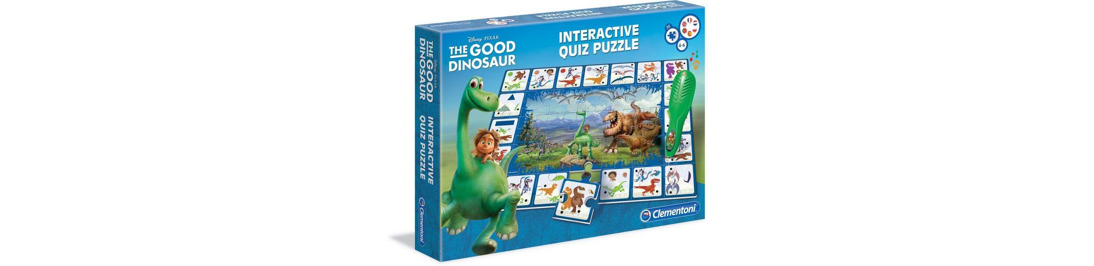 Clementoni Kinderspiel, (35-tlg.), »Disney Arlo & Spot Quiz«