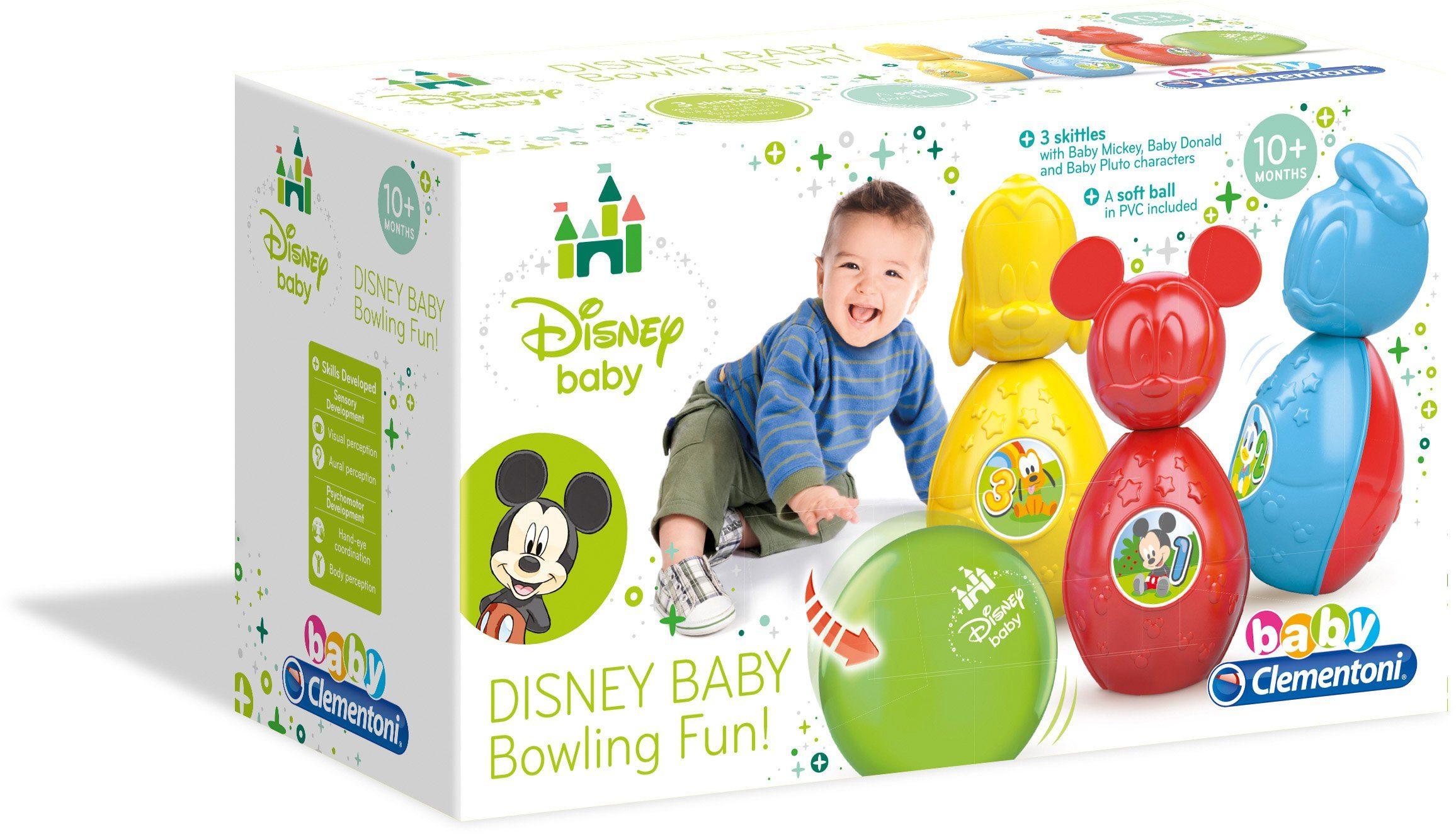 Clementoni Babyspielzeug, »Disney Bowling Set«