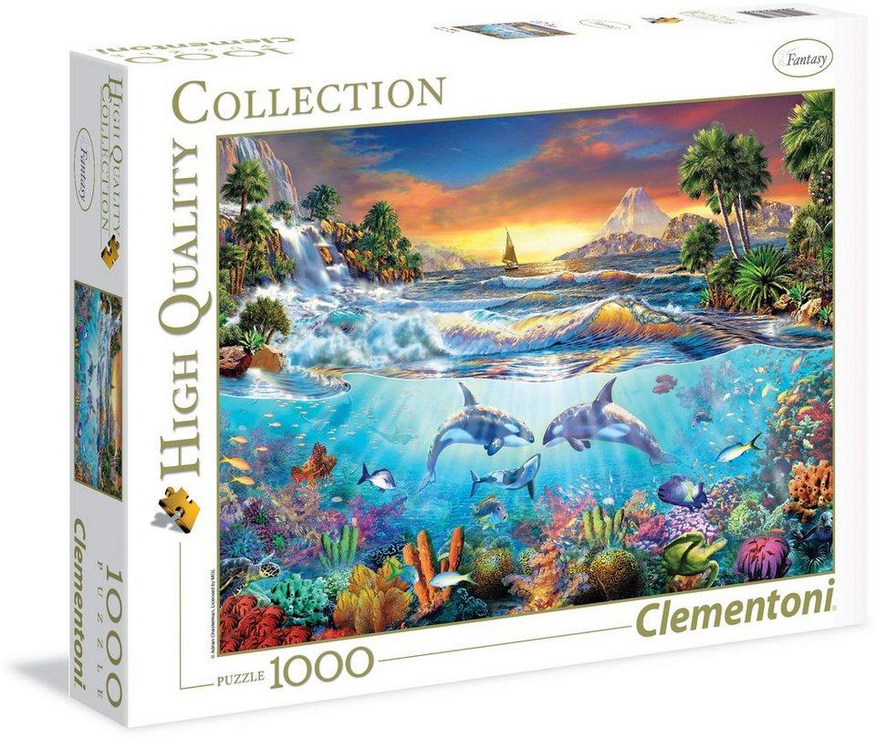 Clementoni Puzzle, 1000 Teile, »Unterm Meer«