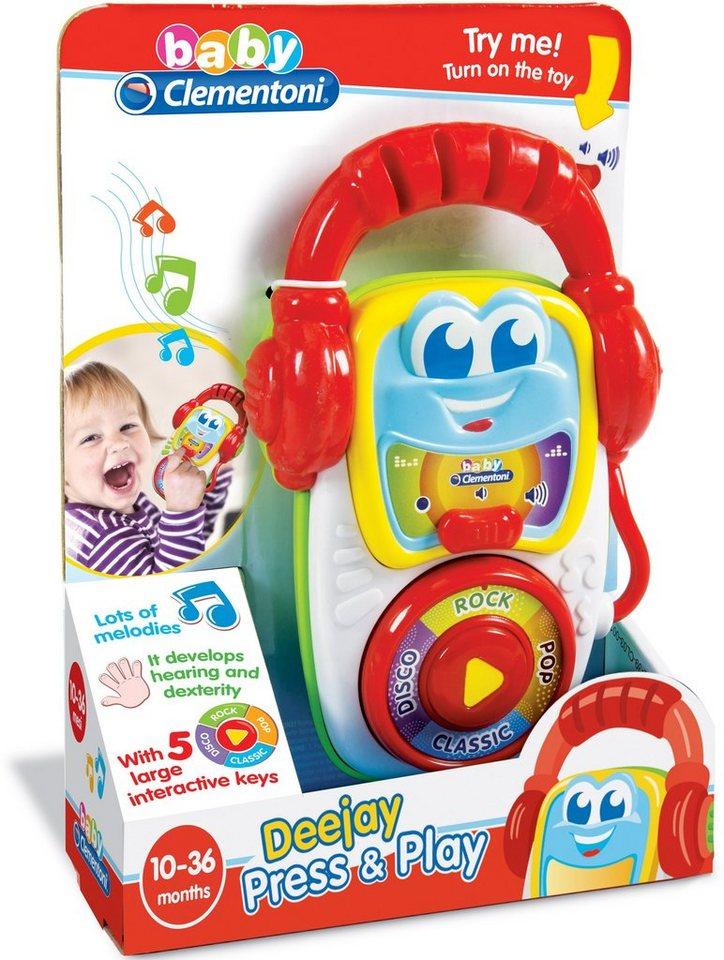 Clementoni Kleinkinderspielzeug mit Melodie, »Sound DJ«