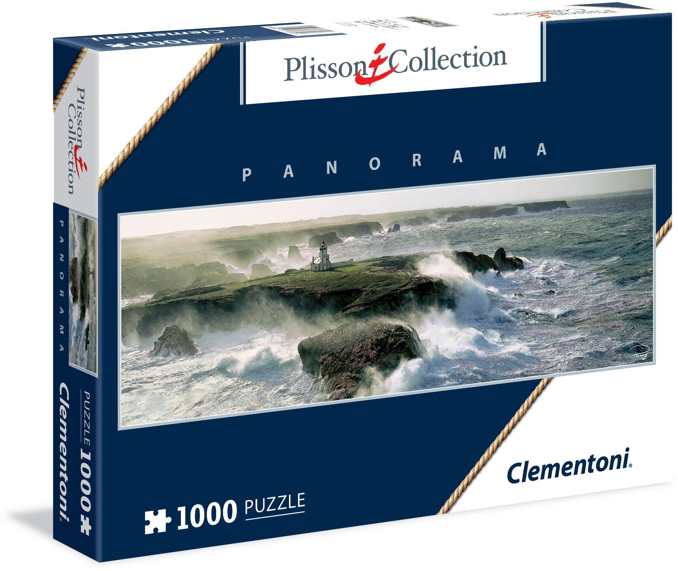 Clementoni Puzzle, 1000 Teile, »Blast of wind on the Point de Poulaine«