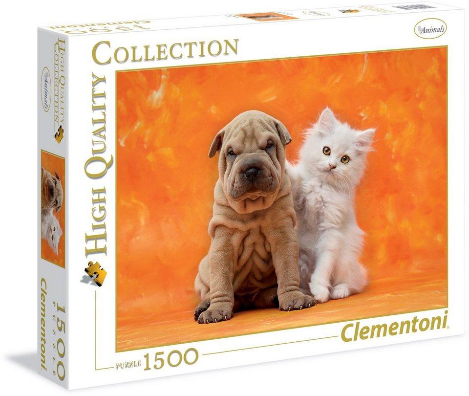 Clementoni Puzzle, 1500 Teile, »So niedlich«
