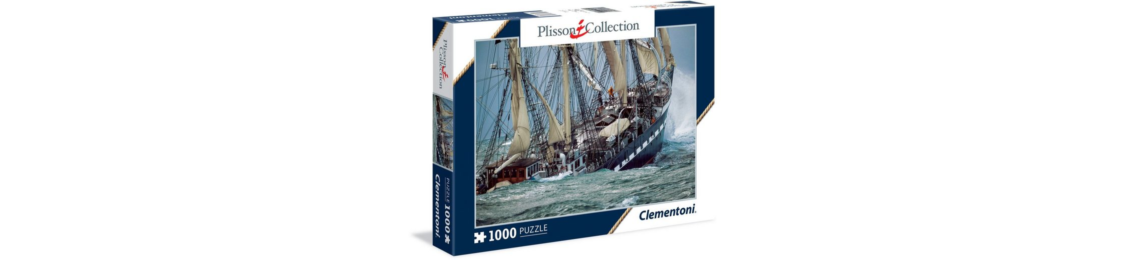 Clementoni Puzzle, 1000 Teile, »Plisson Belem, the last French tall ship«