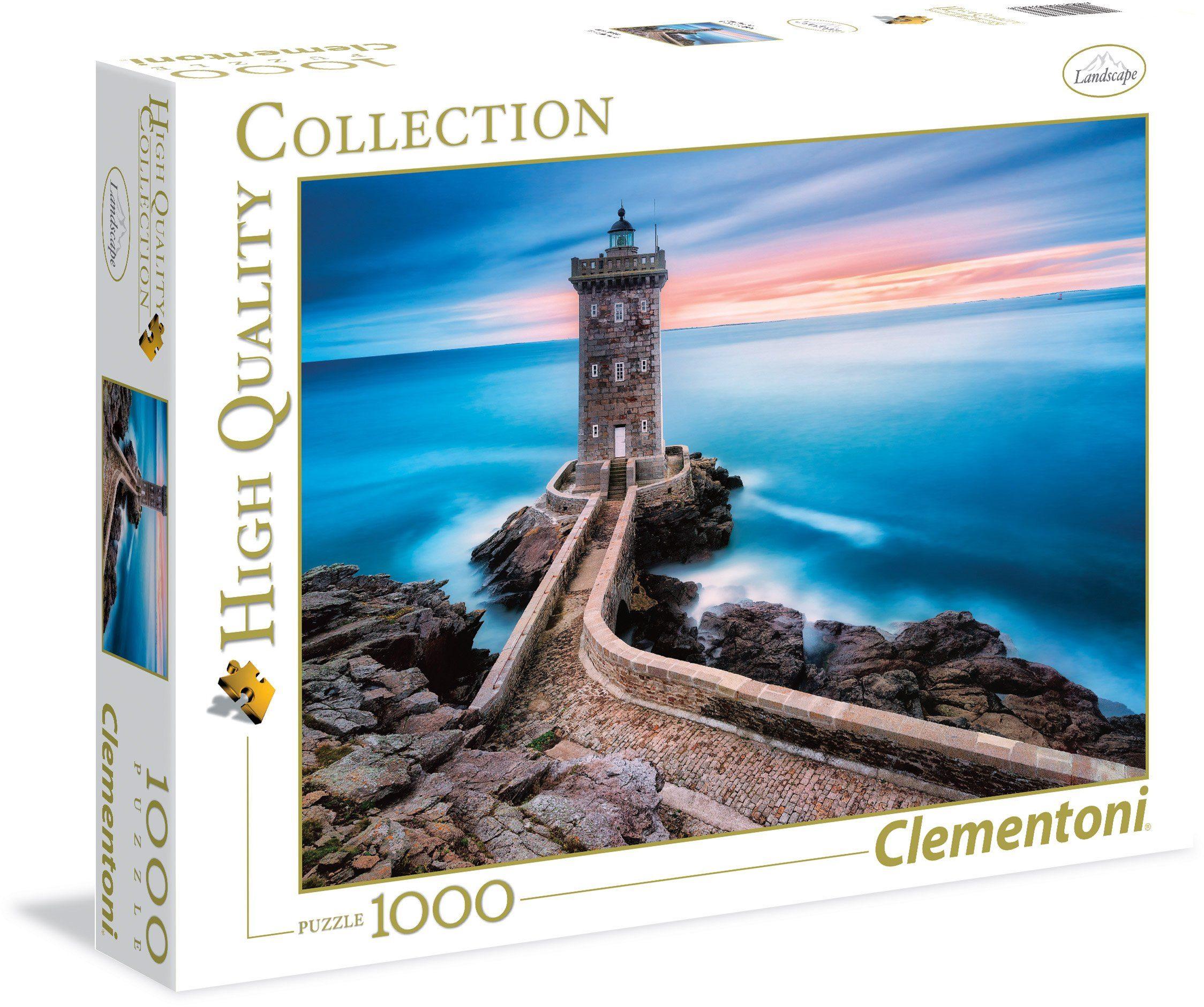 Clementoni Puzzle, 1000 Teile, »Der Leuchtturm«