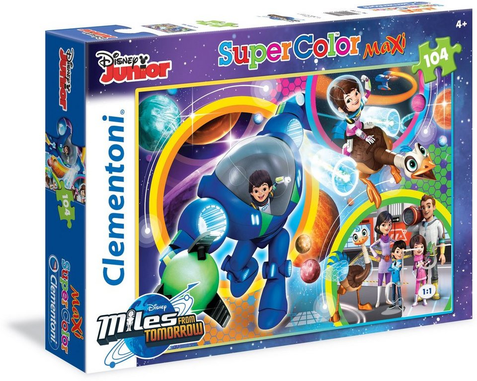 Clementoni Puzzle, 104 Teile, »Disney Miles from Tomorrowland«