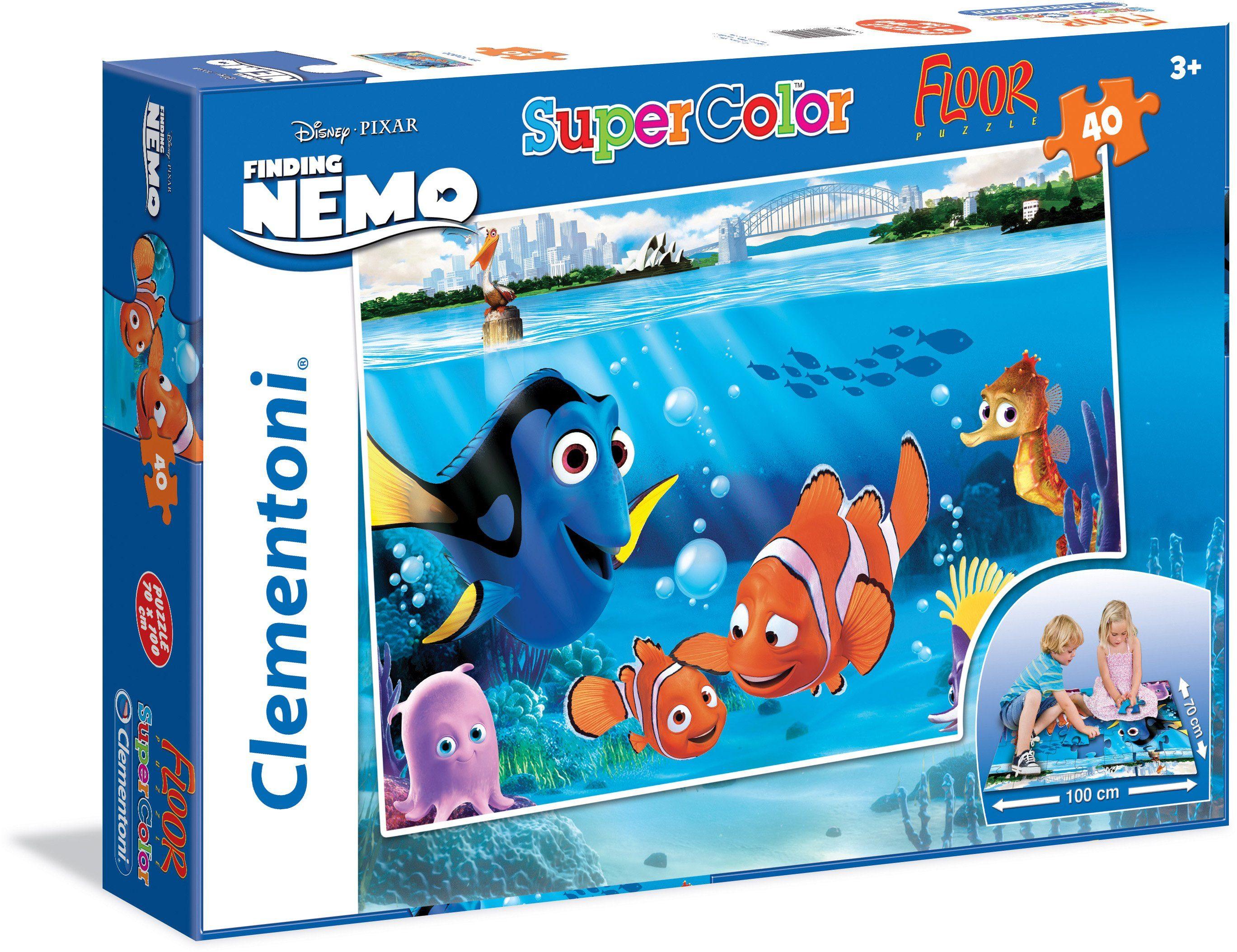 Clementoni Puzzle, 40 Teile, »Disney Pixar Nemo«