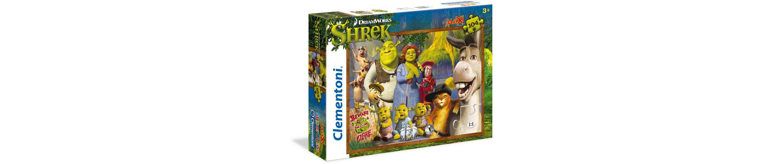 Clementoni Puzzle, 104 Teile, »DreamWorks Shrek«
