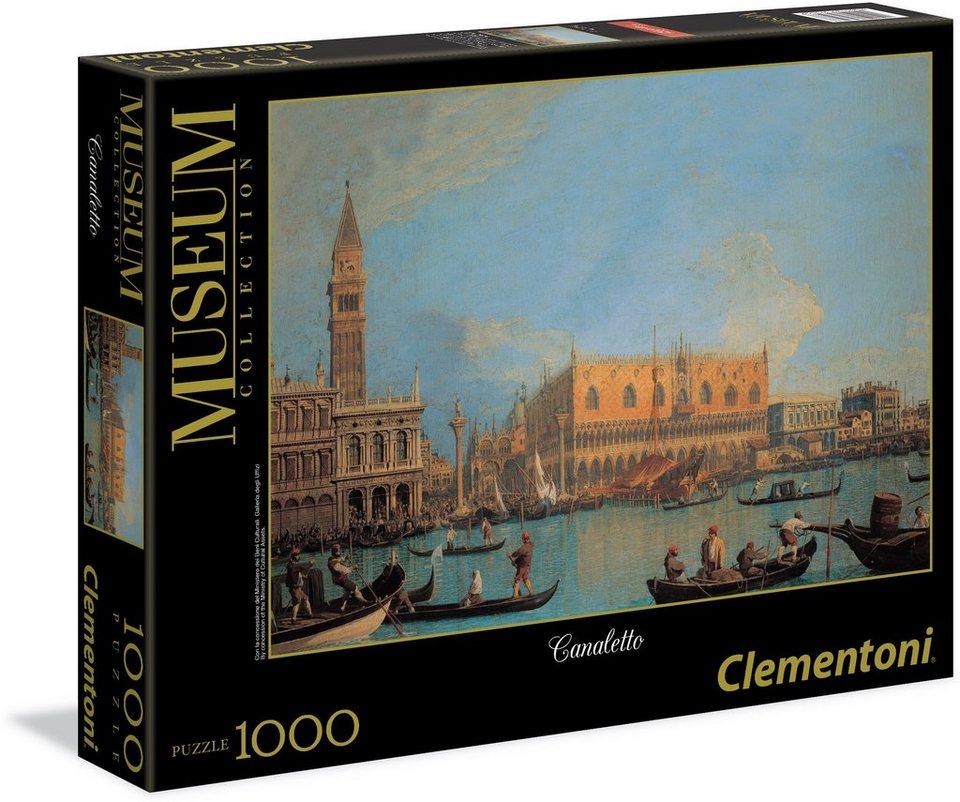 Clementoni Puzzle, 1000 Teile, »Venedig«