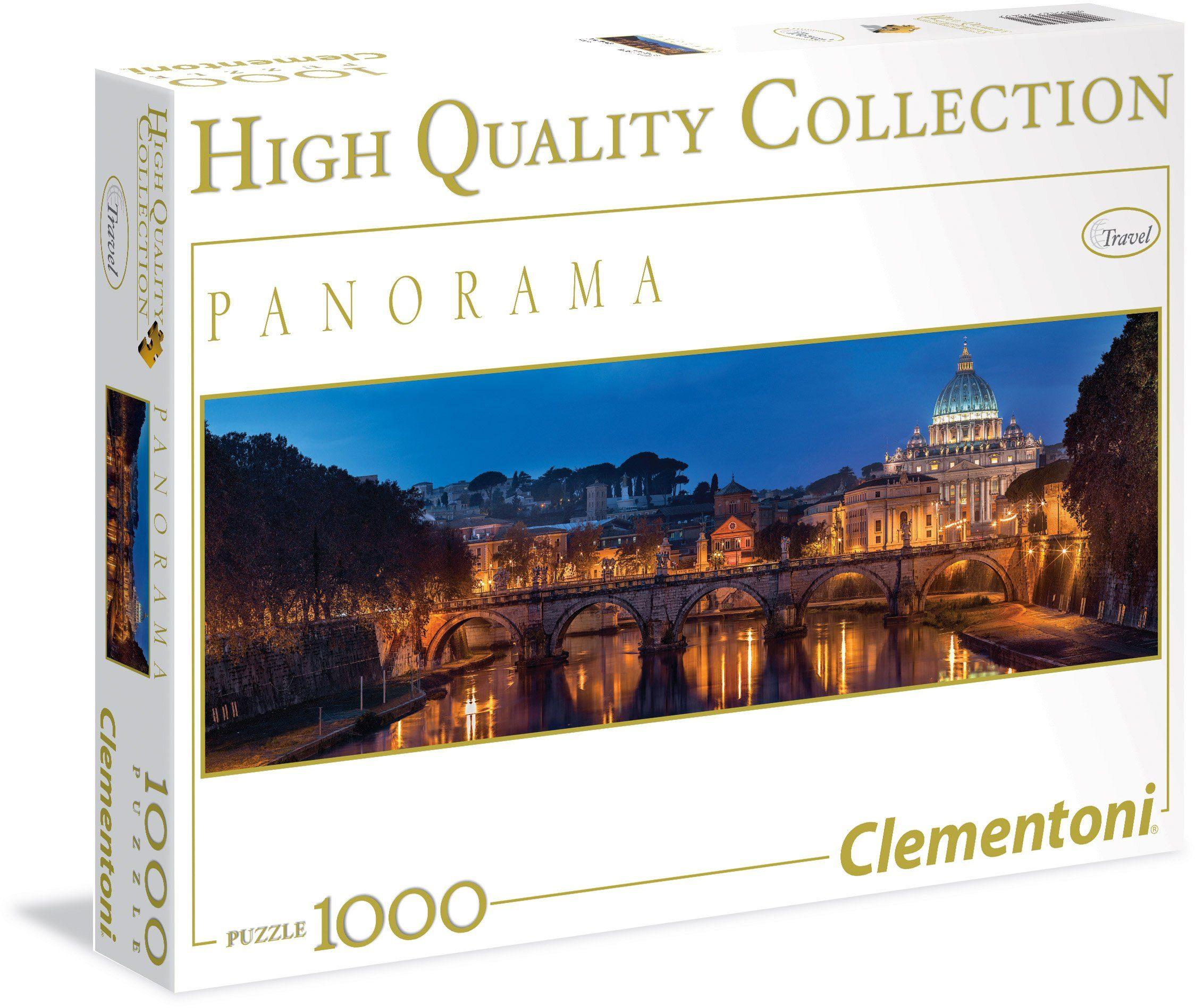 Clementoni Puzzle, 1000 Teile, »Panorama Rom«