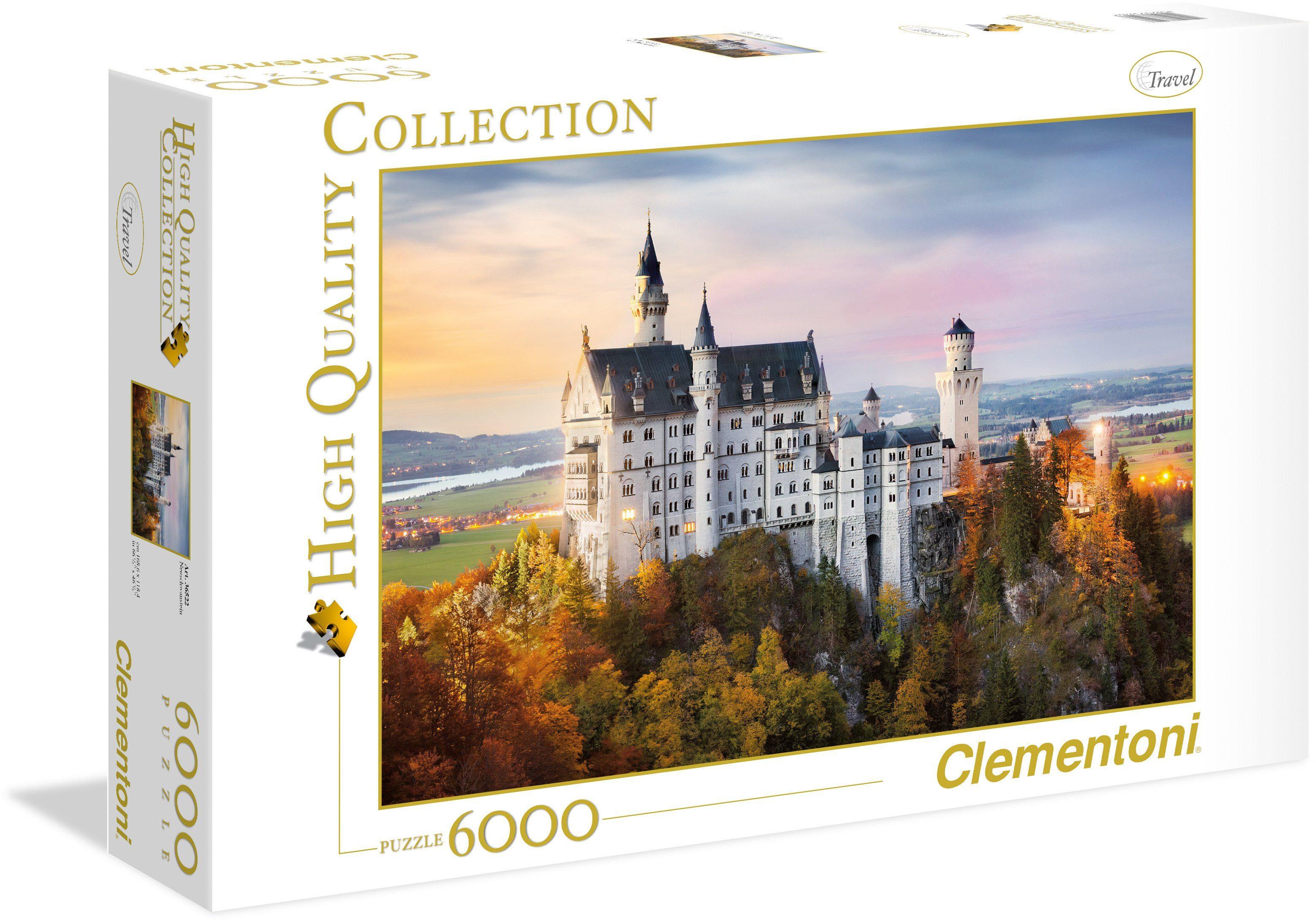 Clementoni Puzzle, 6000 Teile, »Neuschwanstein«