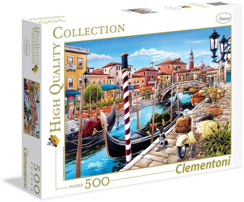 Clementoni Puzzle, 500 Teile, »Lagune Venedig«