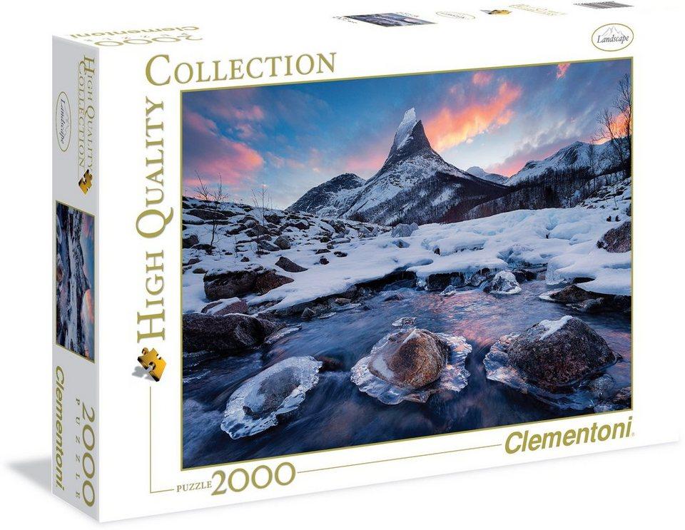 Clementoni Puzzle, 2000 Teile, »Norwegen der Thron«