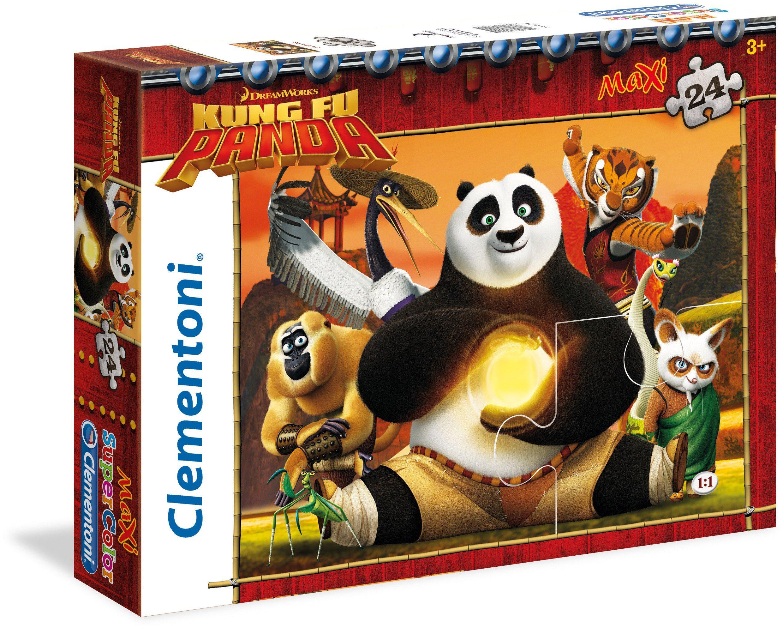 Clementoni Puzzle, 24 Teile, »DreamWorks Kung Fu Panda«