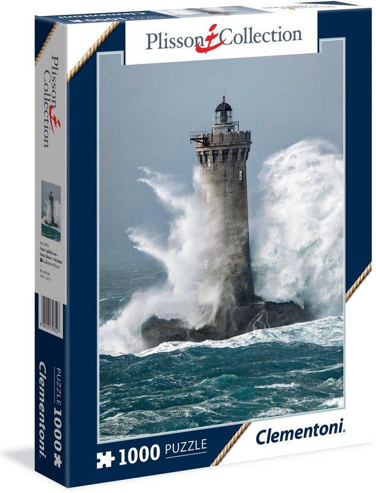 Clementoni Puzzle, 1000 Teile, »Plisson Four Lighthouse«