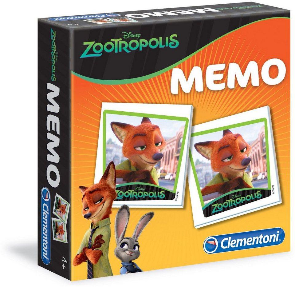 Clementoni Gesellschaftsspiel, »Disney Zoomania Memo«