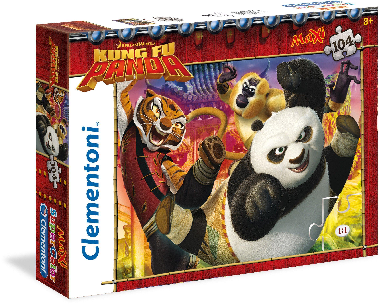 Clementoni Puzzle, 104 Teile, »DreamWorks Kung Fu Panda«