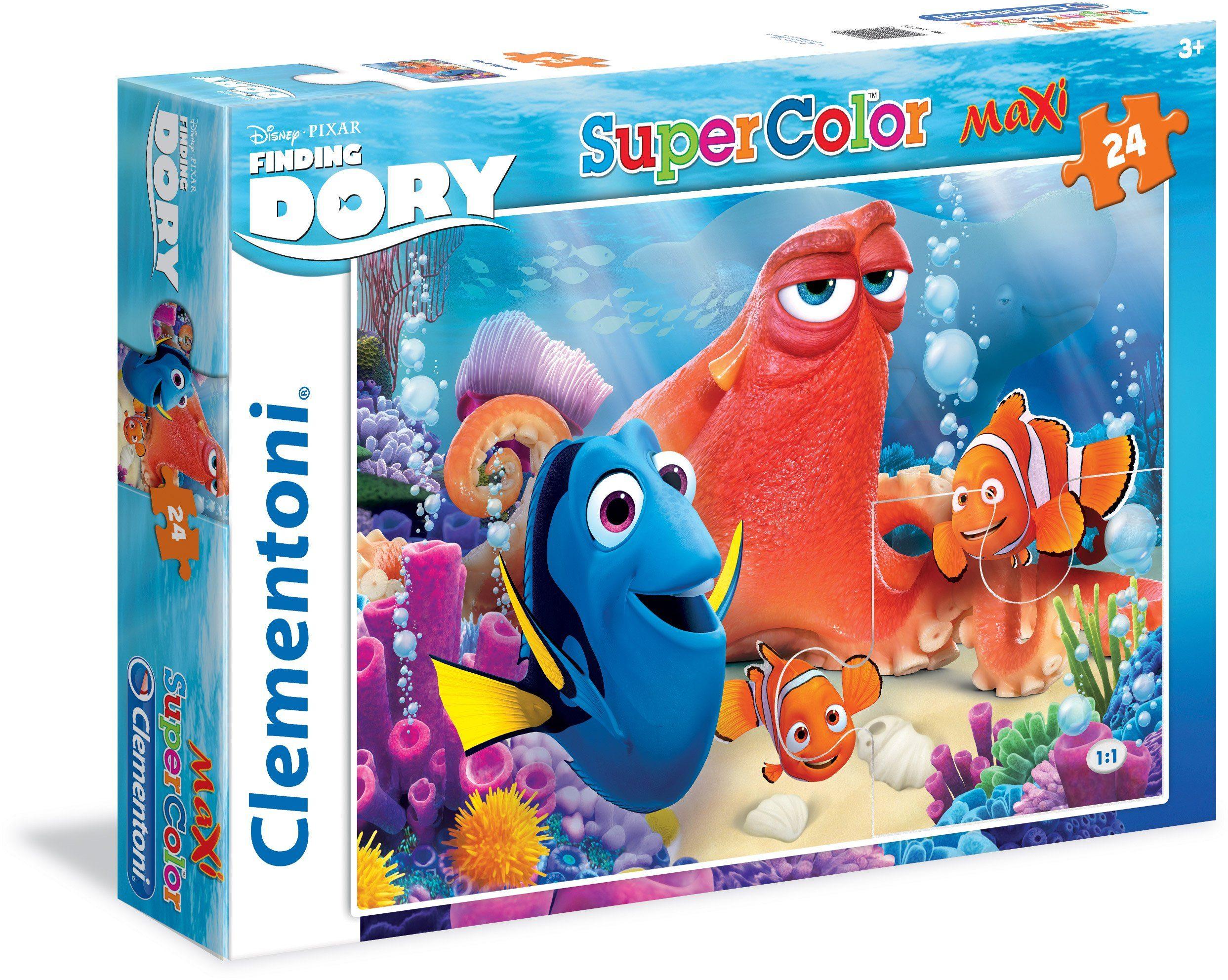 Clementoni Puzzle, 24 Teile, »Disney Pixar Findet Dorie Friends make life colorful«