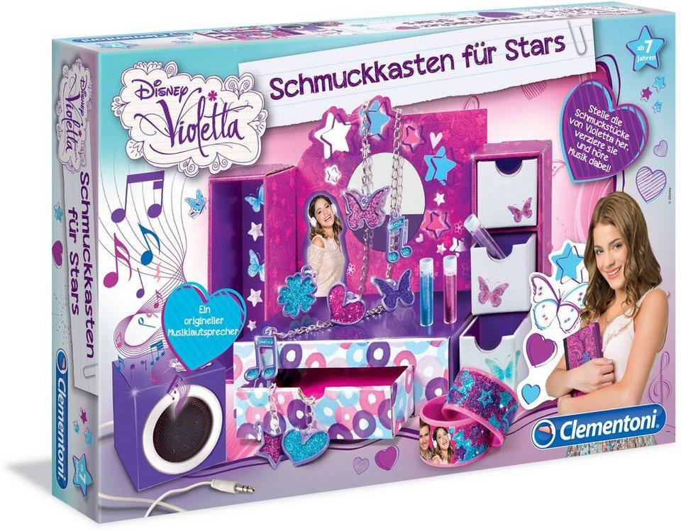 Kreativspielzeug, »Disney Violetta Schmuckkasten für Stars«