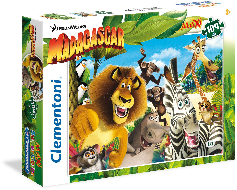 Clementoni Puzzle, 104 Teile, »DreamWorks Madagaskar«