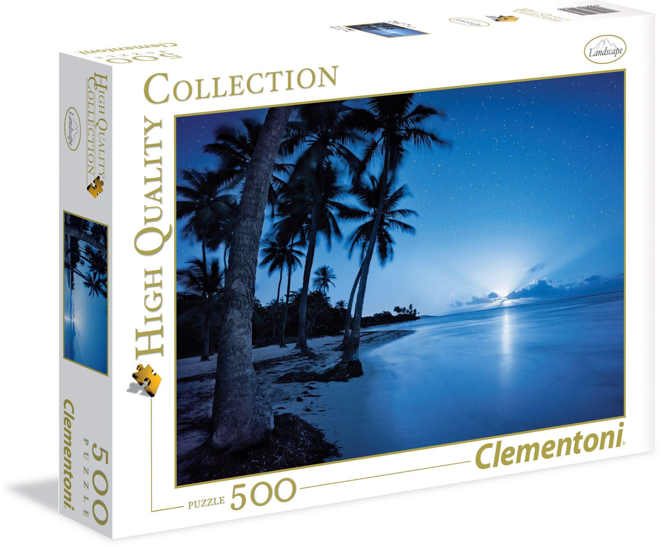 Clementoni Puzzle, 500 Teile, »Der aufgehende Mond«