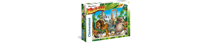 Clementoni Puzzle, 24 Teile, »DreamWorks Madagaskar«