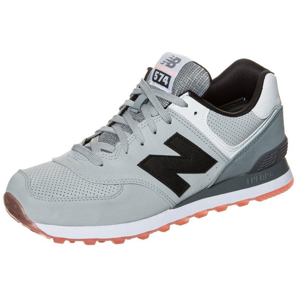 NEW BALANCE ML574-SAA-D Sneaker in grau / schwarz