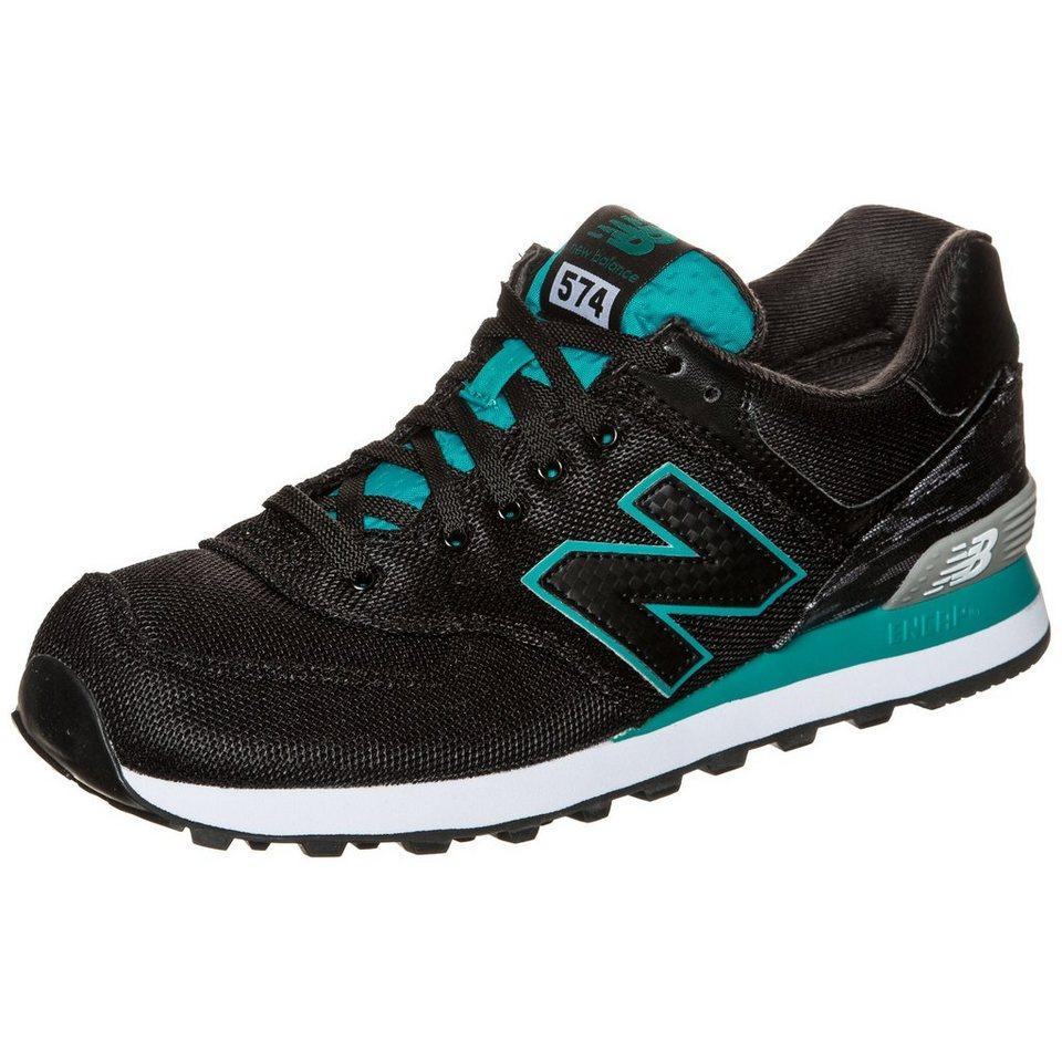 NEW BALANCE ML574-SIB-D Sneaker in schwarz / grün