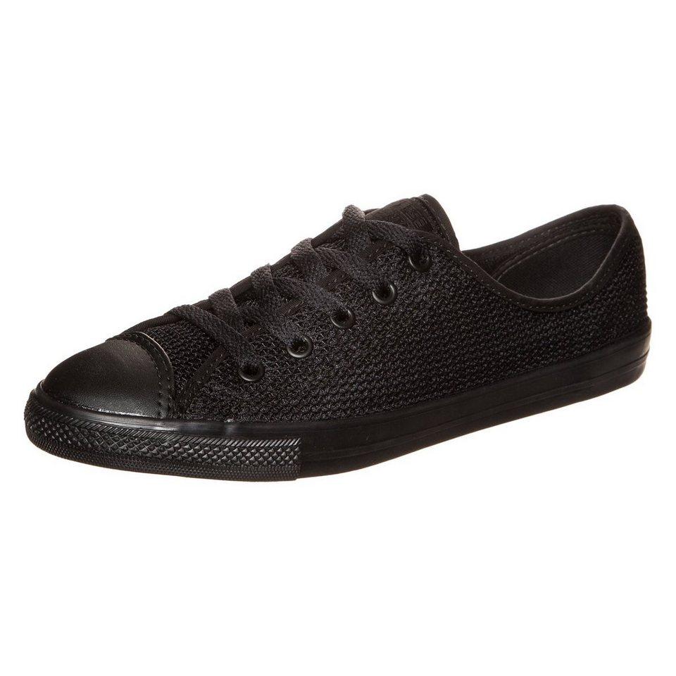 CONVERSE Chuck Taylor All Star Dainty OX Sneaker Damen in schwarz