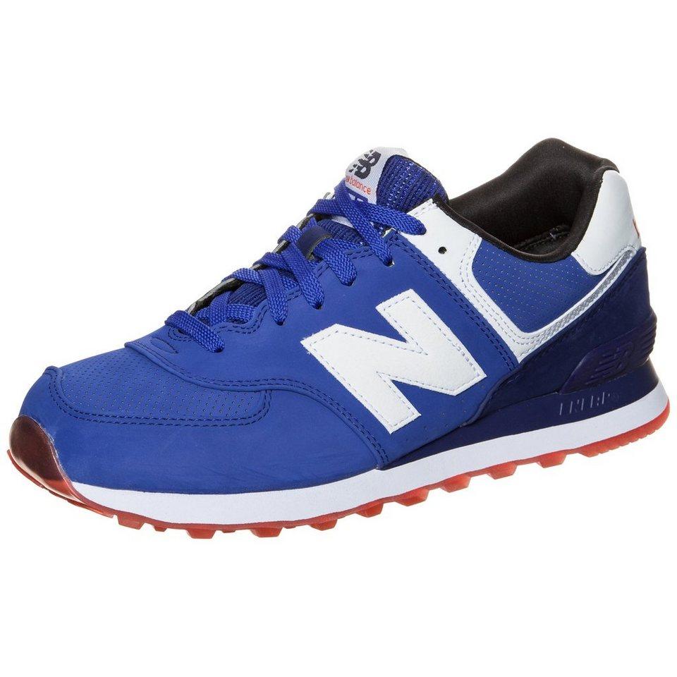 NEW BALANCE ML574-SAF-D Sneaker in blau / weiß