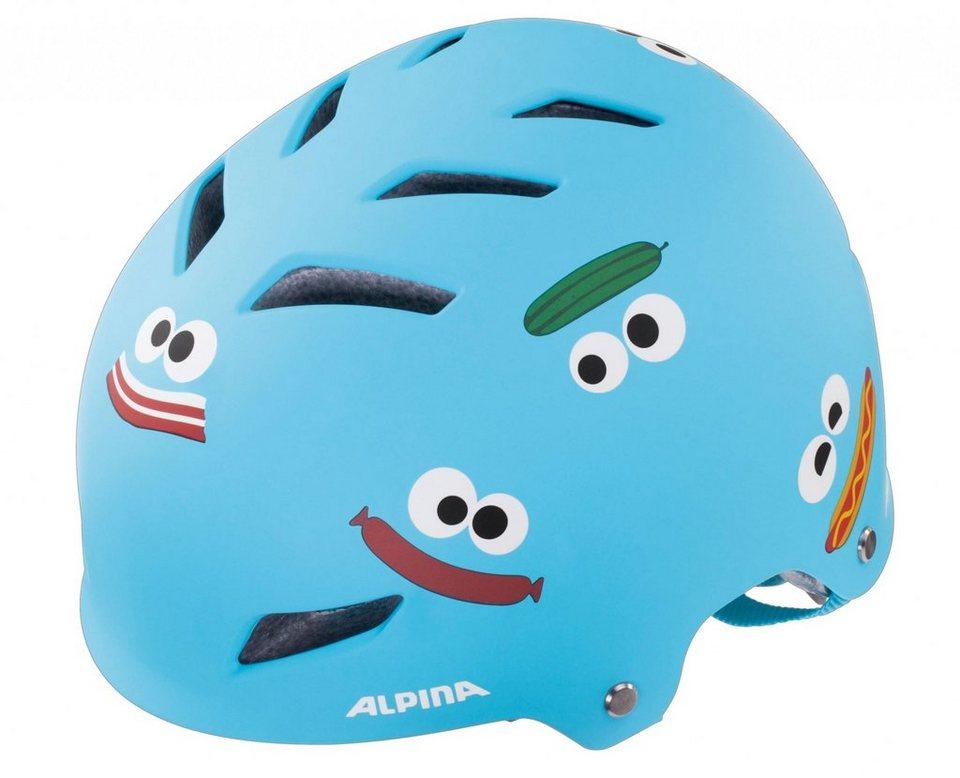 Alpina Fahrradhelm »Park Junior Helm« in blau