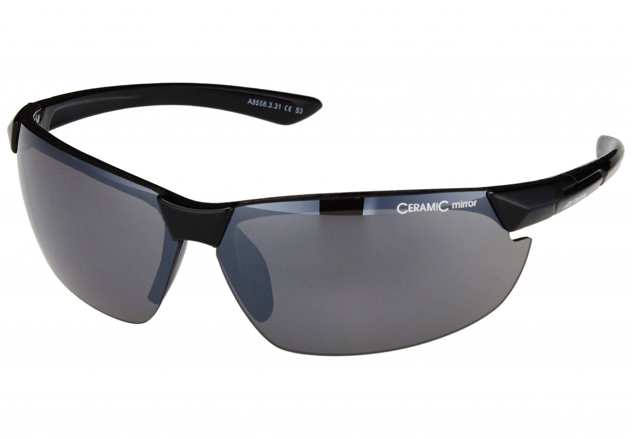 Alpina Sportbrille DRAFF black schwarz pfYz6r