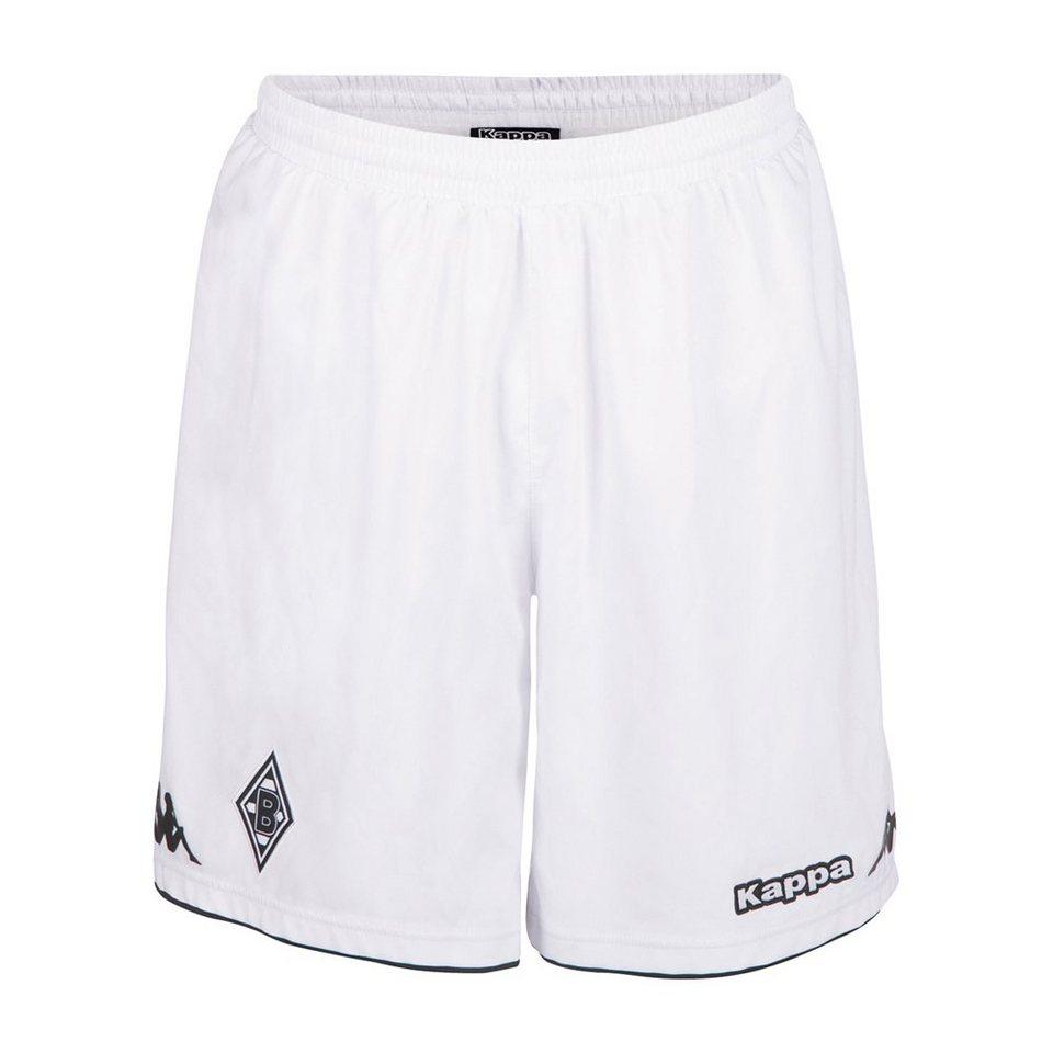 KAPPA Kinder Trikotshorts »Borussia Mönchengladbach Trikot-Shorts Kids 16-17« in white
