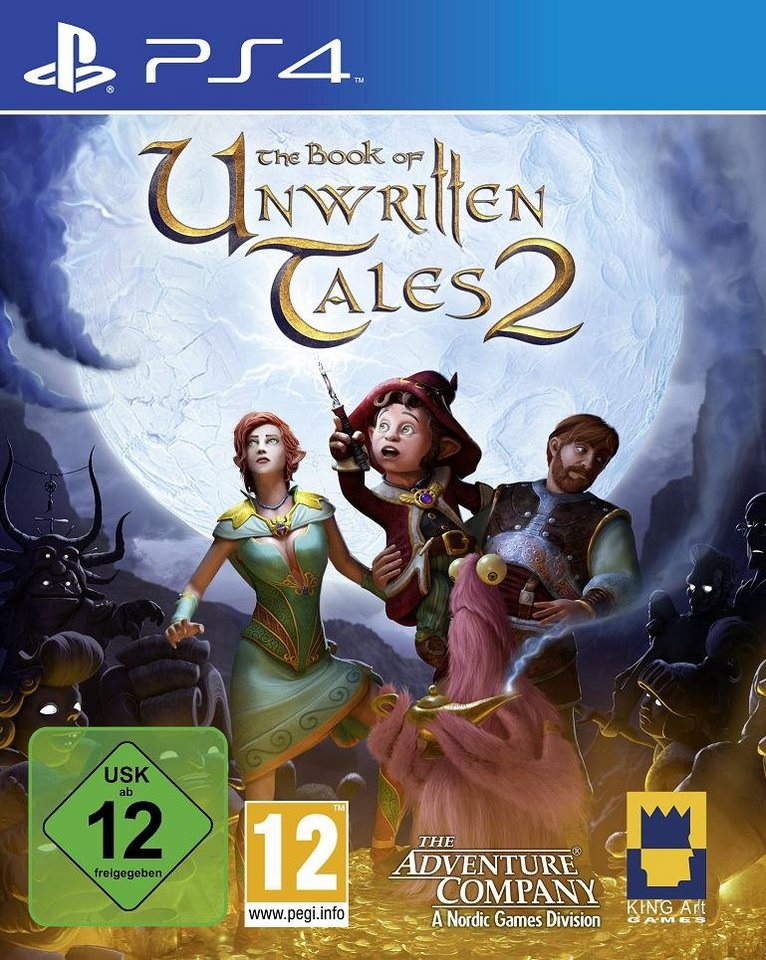 Nordic Games Playstation 4 - Spiel »The Book of unwritten Tales 2«