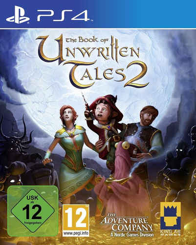 Nordic Games Playstation 4 - Spiel »The Book of unwritten Tales 2« Sale Angebote Remscheid