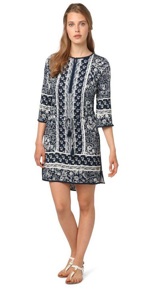 TOM TAILOR Kleid »sommerliches Tunika-Kleid« in real navy blue