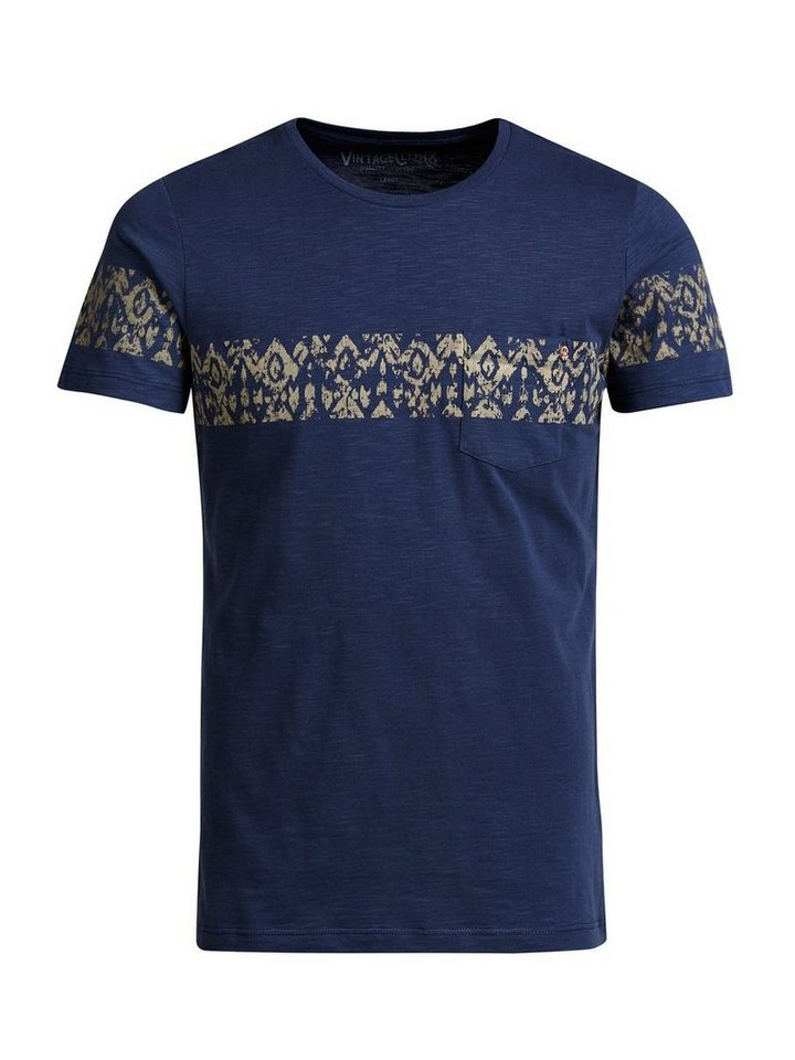 Jack & Jones Bedrucktes T-Shirt in Mood Indigo