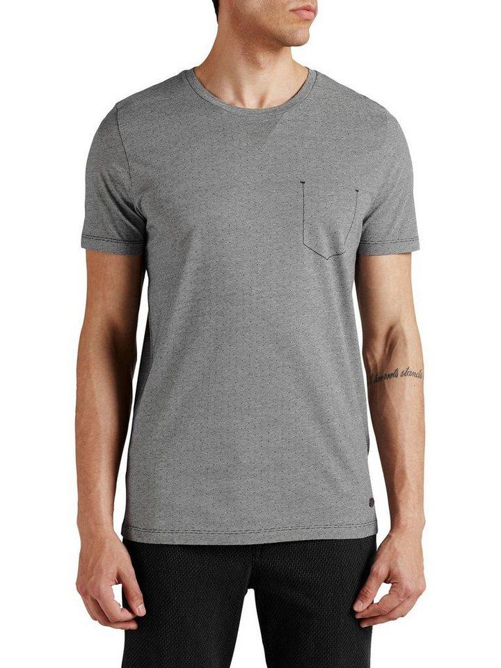 Jack & Jones Punktmuster T-Shirt in Navy Blazer