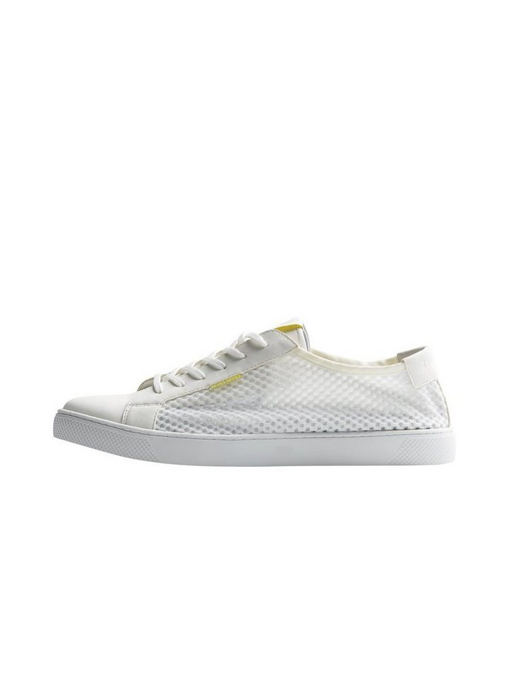 Jack & Jones Mesh- Sneaker in Bright White