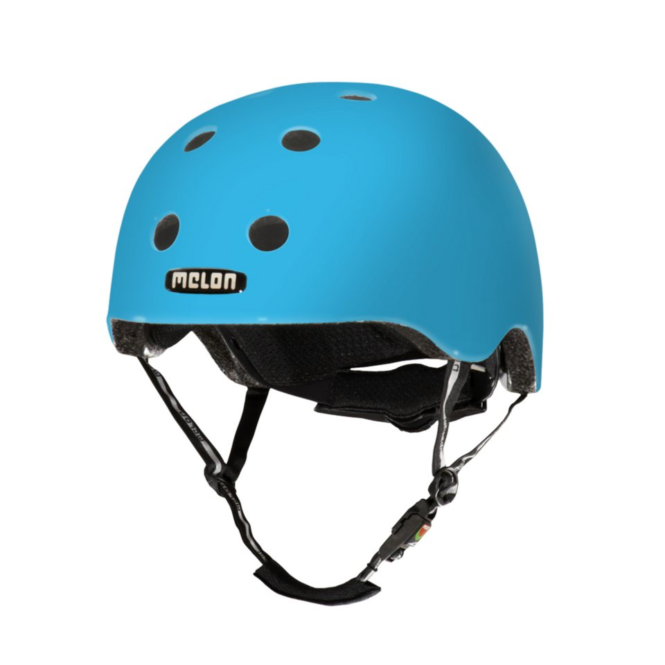 Melon Helm »Pure Matt Collection (XXS-S) matt« in Blau