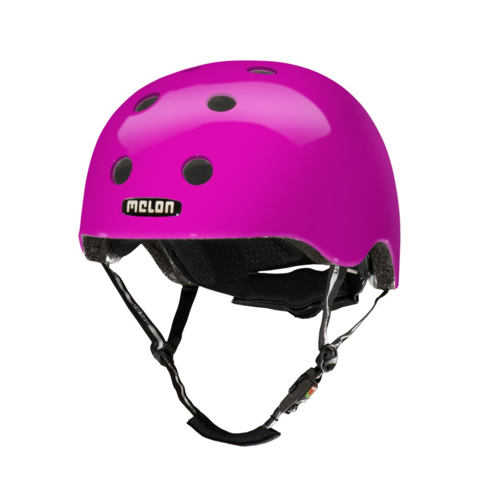 Melon Helm »Pure Glossy Collection (M-L) glänzend« in Pink