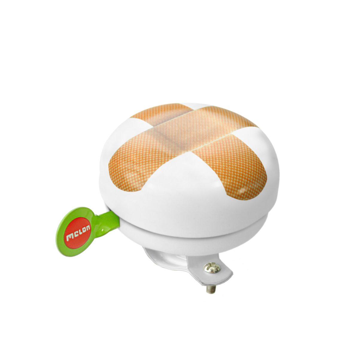 Melon Zubehör »Fahrradklingel Plastered White«