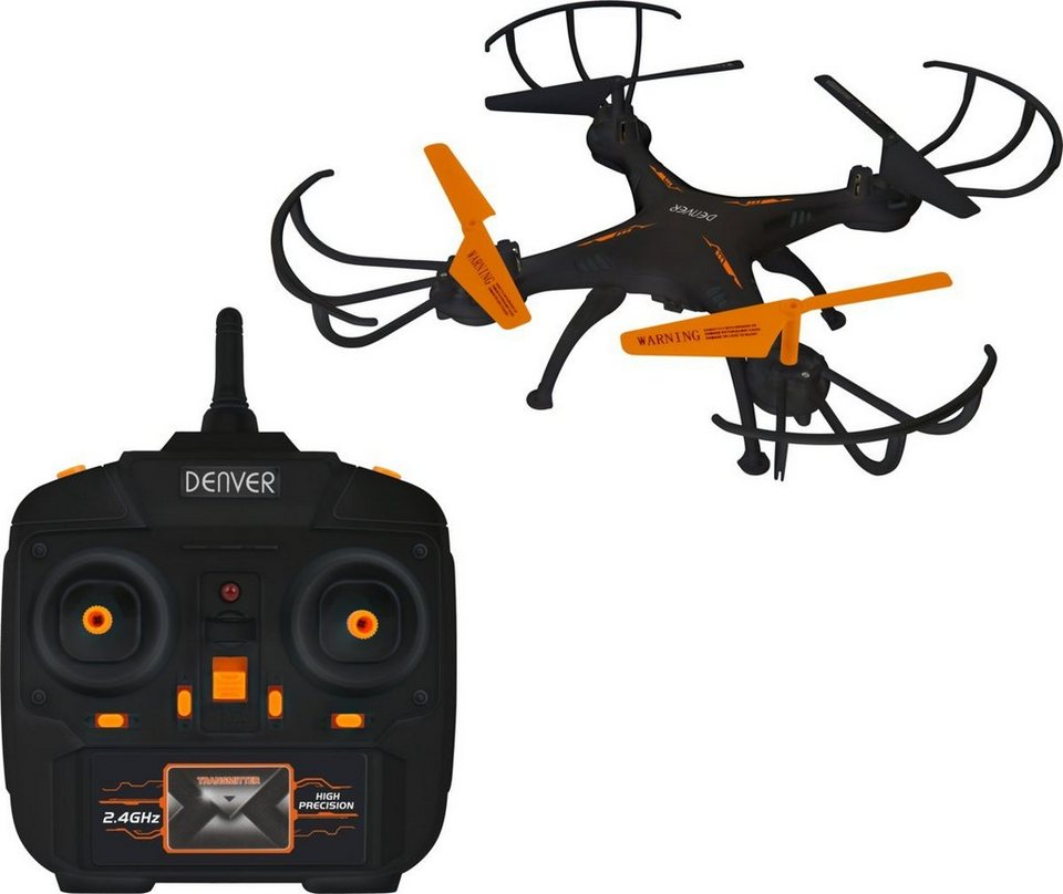 Denver Drohne »Quadrocopter Drohne DCH-260« in Schwarz-Orange