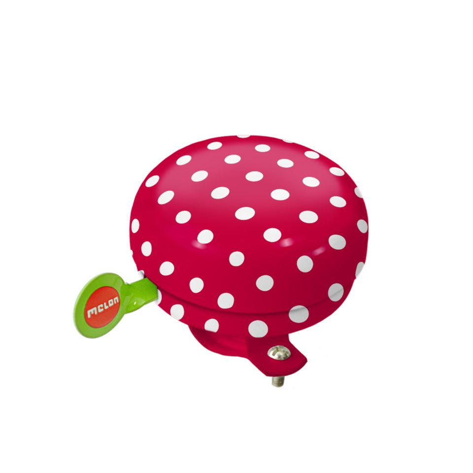 Melon Zubehör »Fahrradklingel Dotty White« in print