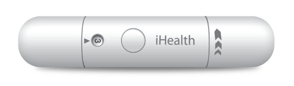 iHealth Medizinisches Zubehör »Stechhilfe für Lanzetten« in Blau
