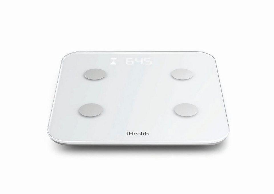 iHealth Personenwaage »CORE Körperanalysewaage HS6« in Weiß